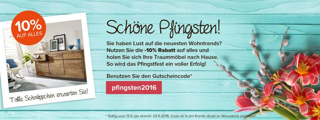 Main Möbel Aktionsteaser Pfingstaktion 2016