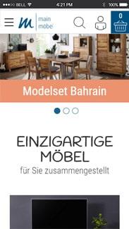 Main Möbel Smartphone