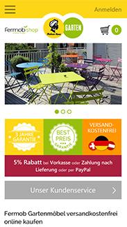 Mohren-Haus Garten Smartphone