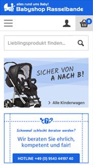 Babyshop Rasselbande Smartphone
