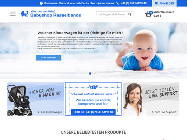Babyshop Rasselbande Tablet