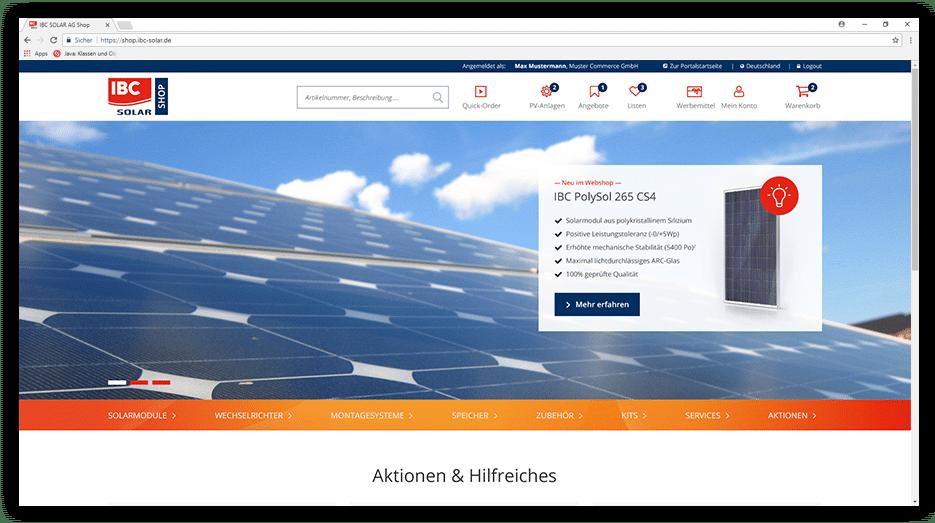 IBC SOLAR Startseite