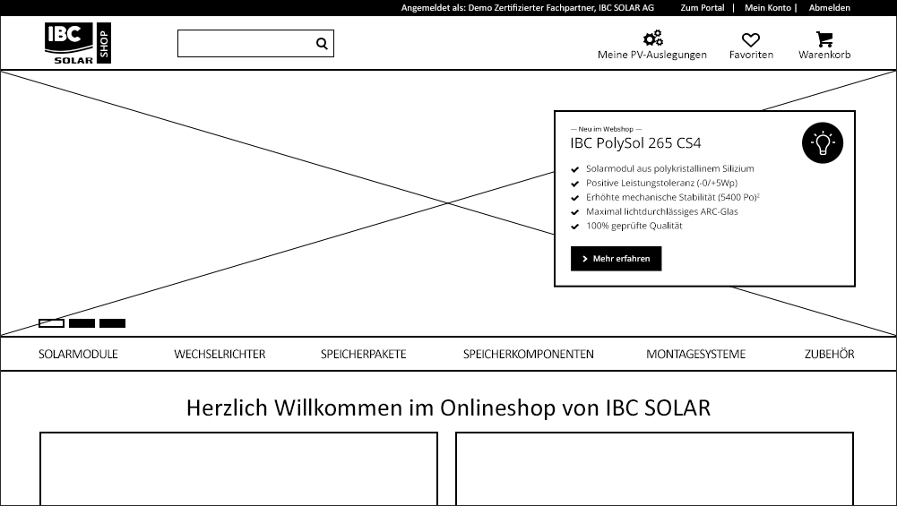 IBC SOLAR Konzept