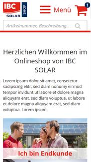 IBC SOLAR Smartphone