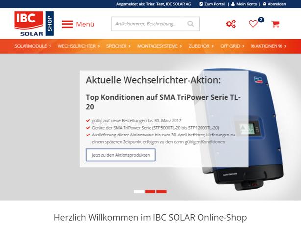 IBC Solar Tablet