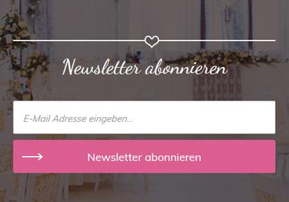 myweddingshop.de Newsletter