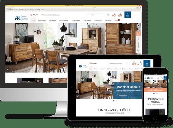 Onlineshop Referenz Main Möbel