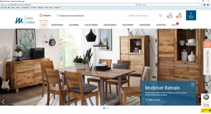 Referenz Main Möbel GmbH