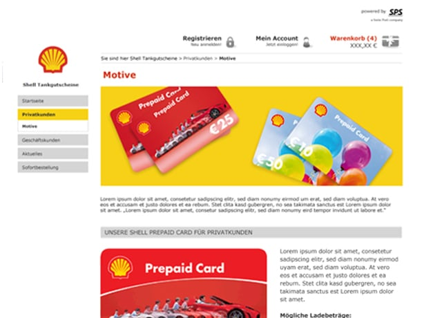Shell Deutschland Tablet