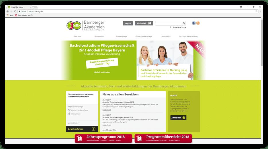 Bamberger Akademie für Gesundheitsberufe