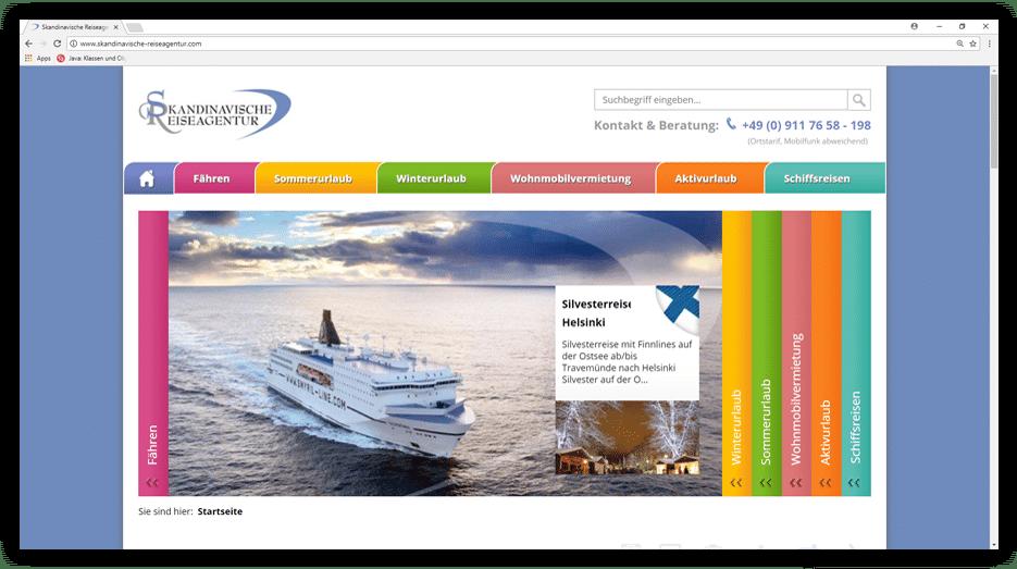 Skandinavische Reiseagentur