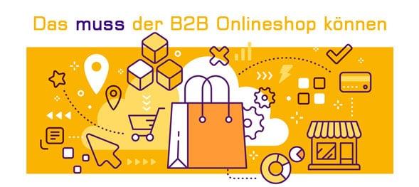 Funktionen eines B2B Onlineshops