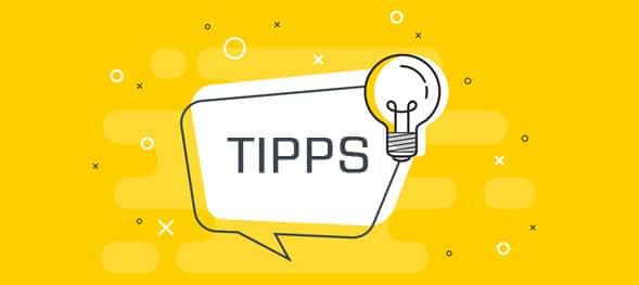 Tipps Onlineshop