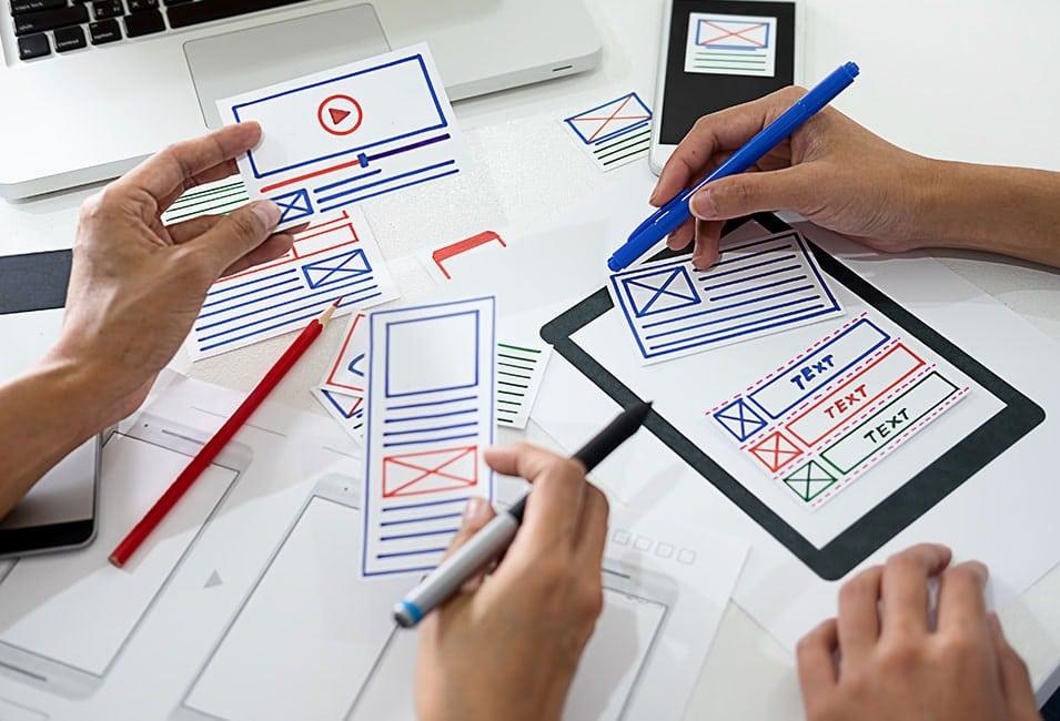 Shop-Design-Prozess